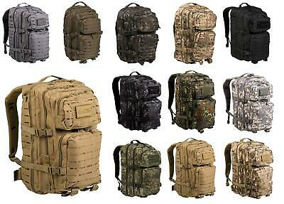 Mil-Tec US Assault Pack 20-36L Tarn Rucksack Outdoor Army Armee Laser Cut Tasche