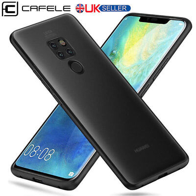 For Huawei Mate 20 Pro Case Ultra Slim Matte TPU Silicone Gel Shockproof Cover