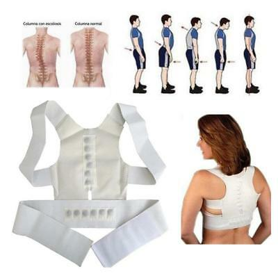 Einstellbar Back Posture Correction Support Corrector Lumbar Shoulder Brace Belt