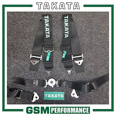 Takata Race 4 Snap On Harness - Suitable for Harness Bars