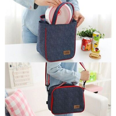 Adult Kids Lunch Box Insulated Lunch Bags Large Cooler Tote Bag for AU Men Women