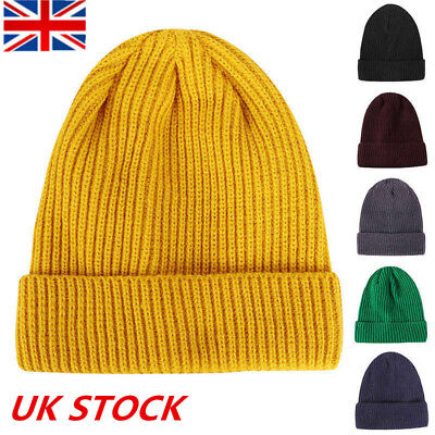 8a435f4412888 Outdoor Look Mens Wool Yarn Multicolors Winter Warm Knit Beanie Sport Ski  Hat UK