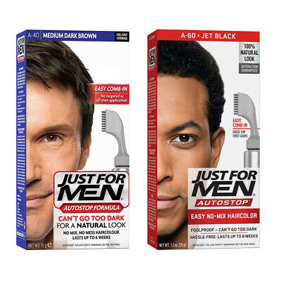 Just For Men AutoStop Formula No Mix Hair Colour - For a Natural Look