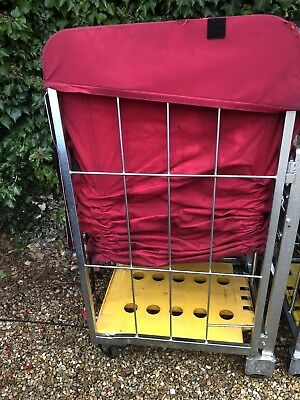 Royal Mail Trolley With Bag