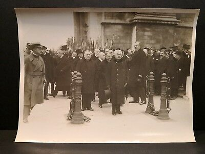 Lot Photos HENRI MANUEL 11 Novembre 1923 Commémorations Ceremonies Officiel