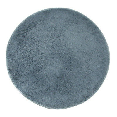 Gray/Khaki Round Electronic Drum Carpet Mat for Bass Drum Player Lovers