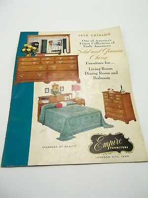 1958 Empire Furniture Catalog Johnson City TN Vintage