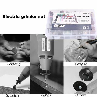 Mini Electric Angle Grinder Suit With Drill Bit Dremel Carving Machine S