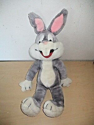 "Vintage 1971 Warner Bros. *bugs Bunny* 19"" Plush Doll #1558. Mighty Star"