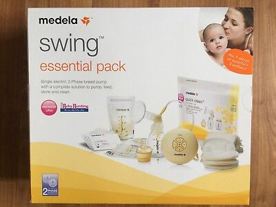Used Medela Swing Single Electric Breast Pump In Like New Condition