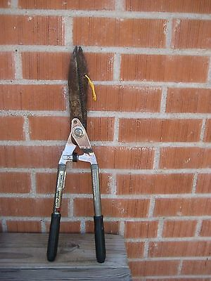 "Vintage 7"" Blade ** CRAFTSMAN ** Pruning Hedge Shears Garden Tool USA"