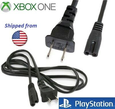 Original 6 Ft AC Power Supply Adapter Cord Cable Microsoft Xbox ONE S X PS3 PS4