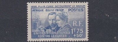 French Colonies Equatorial Africa 1938  Sg  94 1F 75 On 50C Ultra Mh Cat £30