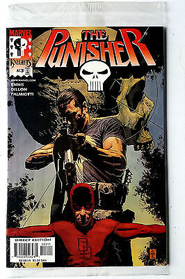 Punisher #3 (2000 Marvel) Polybagged VF/NM