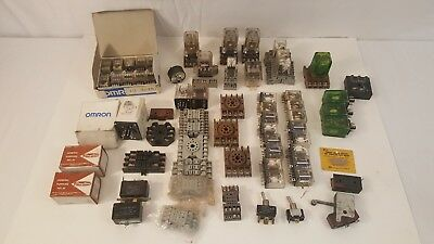 Serviceman Relay Estate Lot Ice Cube Safety Relays, Bases & Other Misc. Omron