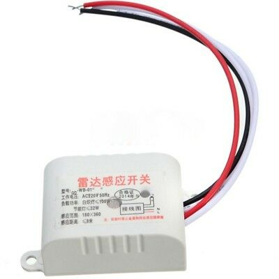 220V Auto Infrared Body Motion Sensor PIR Sensing Switch Microwave Radar Sensor