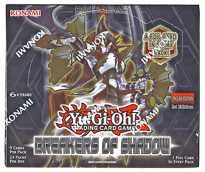 Yu-Gi-Oh! Breakers of Shadow Display 24 Booster English Edition Trading Cards