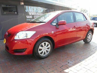 2008 Toyota Corolla ZRE152R Ascent Red Automatic 4sp A Hatchback