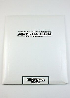 193229 *EXPIRED* Aristo EDU Ultra 8x10 VC RC Paper 25 Sheets Pearl Surface As-Is