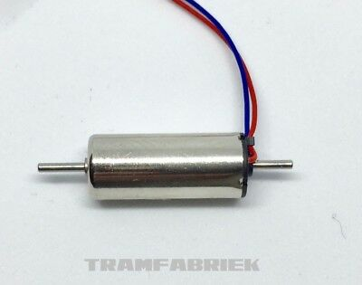 NEW! 7mm x 16mm Coreless Micro Motor 12V with DOUBLE SHAFT for model trains
