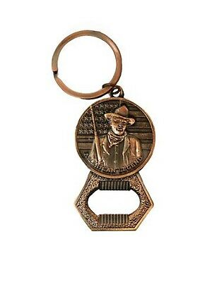 John Wayne Key Chain /Brass  Bottle Opener Legend Brass