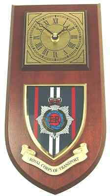 Rct Royal Corps Of Transport Classic Hand Made To Order Wall Clock