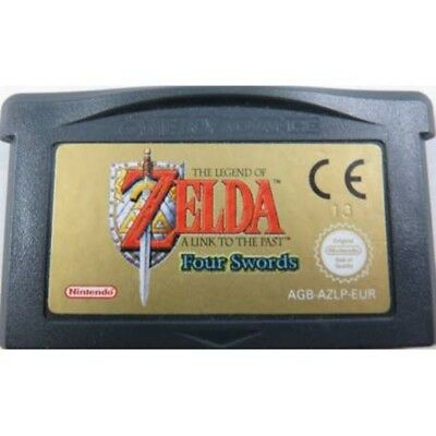 The Legend of Zelda a Link to the past Four Swords EUR -  GBA Game Boy Advance