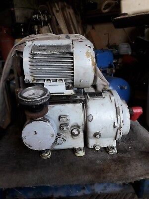 Carter Hydraulic Variable Speed Motor/Gearbox