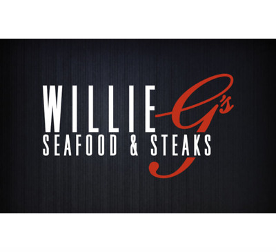 Willie G's Gift Card - $25 $50 or $100 - Email delivery