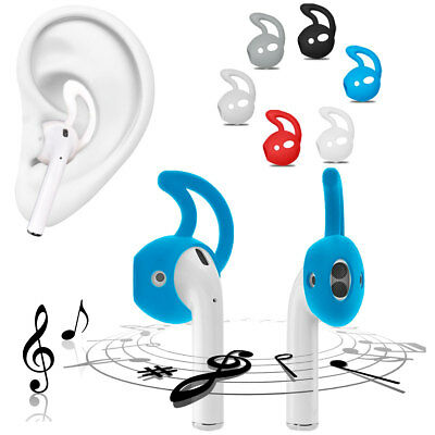 1/3/5 Pair Ear Hooks TPU Silicone Skin Cover For Apple AirPods AirPod Headphones