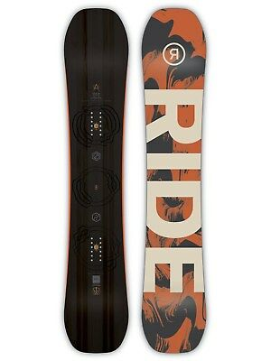Ride Black-Orange 2019 Berzerker - 156cm Snowboard