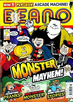 BEANO COMIC MAGAZINE 27th OCTOBER 2018 ~ NEW ~
