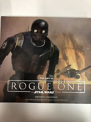 The Art of Rogue One: a Star Wars Story BOOK SIGNED BY CONCEPT ARTISTS