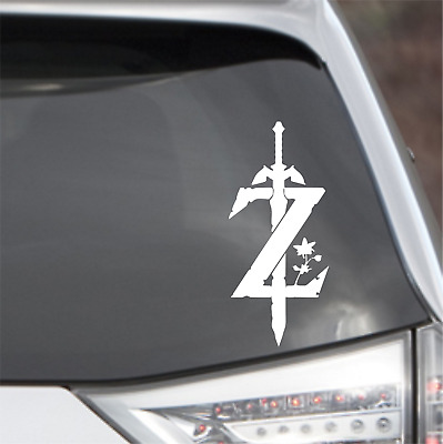 Legend of Zelda decal Tri-Froce Link decal nintendo sticker new Link