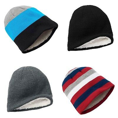 Urban Pipeline Men's Faux Sherpa Lined Winter Beanie Hat - One Size - Select one