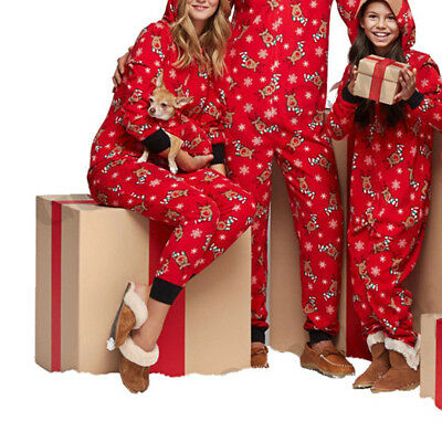 Santa Squad PJs Matching Family Christmas Elf Pyjamas Mum Dad Baby Kids Xmas