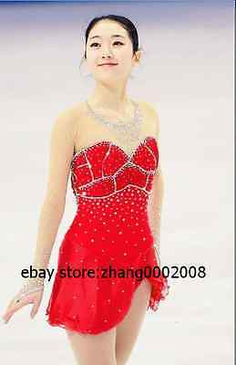 Ice skating dress.Sparkle Competition Figure Skating dress.Baton Twirling custom