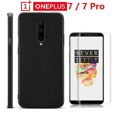 For OnePlus 6T 6 5T 5 Shockproof Hybrid Rubber+PC Protective Back Case Cover