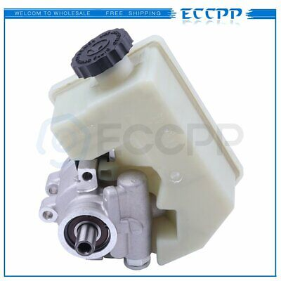 New Power Steering Pump With Reservoir For 02-06 Jeep Liberty 2.4L 3.7L V6 SOHC