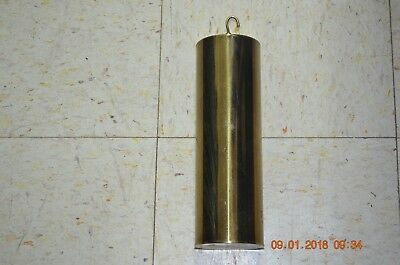Antique Grandfather Clock Weight with insert set of 1 for project