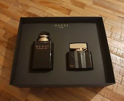 df60d3a4b9a Gucci Oud Gift Set Gucci Intense Oud EDP 90ml   Gucci Oud EDP 50ml VERY RARE