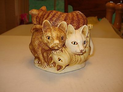 Harmony Kingdom, 'Rather Large Friends' (Cats) in Original Box