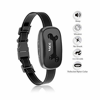 Bark Collar PES001, Humanely and No Harm Stops Dog Barking with Sound NEW