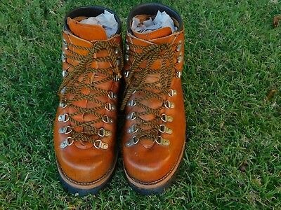 aa8e5bae9f0 RARE VINTAGE IRISH SETTER RED WING Hiking Mountaineering Boots 9.5E