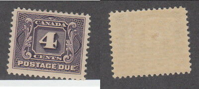 Mint Canada 4 Cent Postage Due Stamp #J3 (Lot #14524)