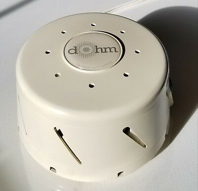Marpac Dohm DS Sound Conditioner 2 Speed White Noise Sleep Machine Ivory Color