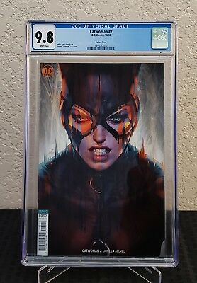 Catwoman #2 CGC 9.8 Cover B Stanley Artgerm Lau Cover Variant