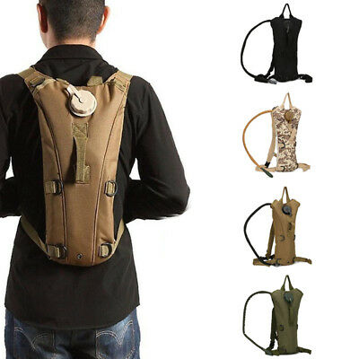 3L Military Water Bladder Bag Camping Hiking Hydration Backpack Camelbak Pack