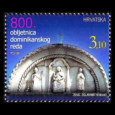 Croatia 2016 - 800th Anniversary of the Dominican Order - MNH