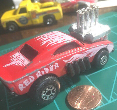 Details about  /Matchbox Lesney #48 Red Rider Superfast 1972 Loose